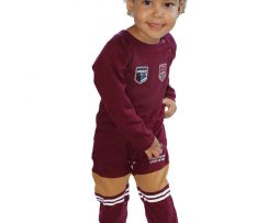 NRL State of Origin QRL Footy Suit Long sleeve