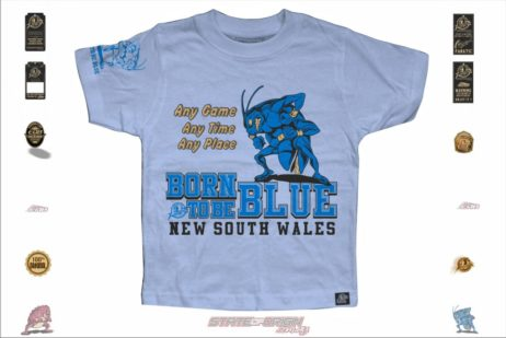 State of Origin 2018 Originals NSW Born to be Blues Toddler T
