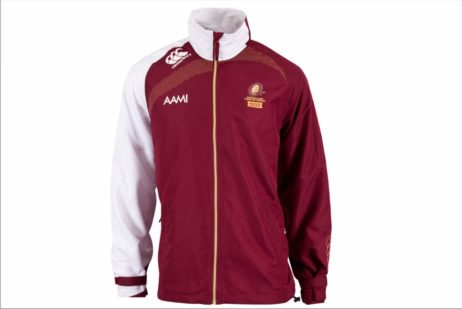 NRL State of Origin QLD Rugby League All Weather Jacket
