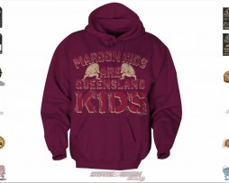 State of Origin Originals Maroons Toddler QLD hoodie