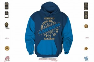 State of Origin Originals NSW Player Drafted Hoodie
