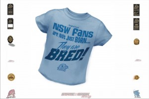 NSW State of Origin Originals Team Born and Bred Babies T