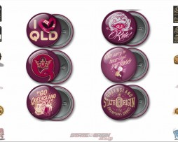 State of Origin Originals QLD Team Button Badges