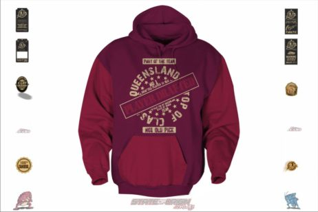 State of Origin Originals QLD Player Drafted Hoodie