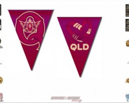 State of Origin Originals QLD Team Bunting