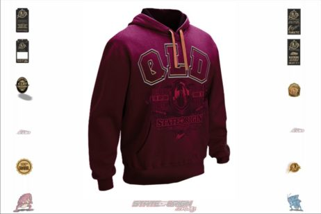 QLD State of Origin Originals Team Embroidered Hoodie