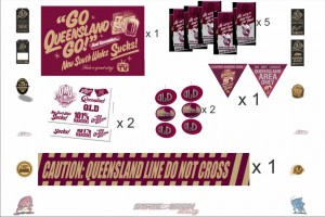 State of Origin Originals QLD Team Party Pack