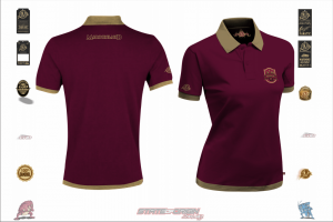 State of Origin I am Maroon Ladies Team Polo