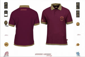 State of Origin I am Maroon Mens Team Polo