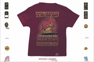 State of Origin 2018 QLD I play like the Maroons Toddler T