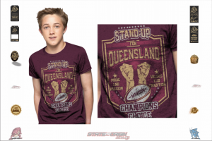 State of Origin 2018 QLD Stand up for your Team