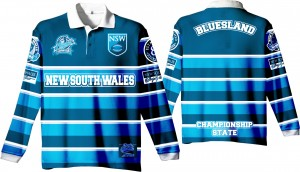 """State of Origin 2018 Team """"Classic old school by EAB, NSW Mens long sleeve Simply the Best Jersey"""""""