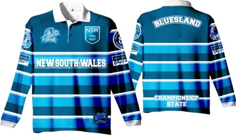 "State of Origin 2018 Team ""Classic old school by EAB, NSW Mens long sleeve Simply the Best Jersey"""