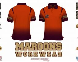 "State of Origin Team ""Maroons Workwear"" Fashionable work wear!"