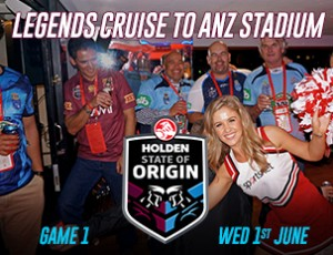 NRL State of Origin Game 1, 2018 Cruise & Bronze game Ticket Package