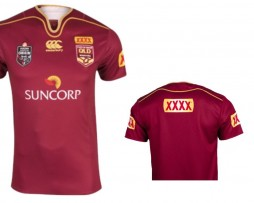 NRL State of Origin QRL Pro Player Replica Jersey 2018