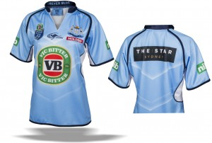 NRL State of Origin NSWRL Pro Player Replica Ladies Jersey