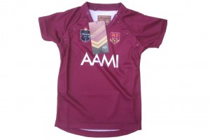 NRL State of Origin QRL Toddler Replica player Replica Jersey Size 0,2,4,