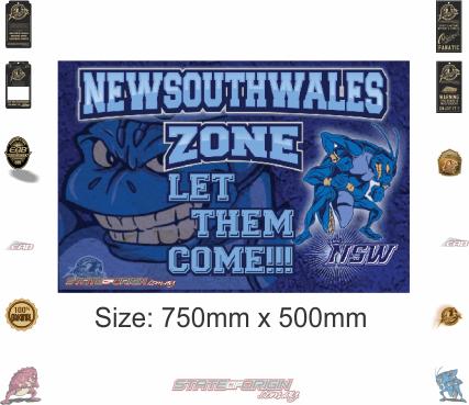 State of Origin Originals 2018 New South Wales Zone Door mat / Floor mat