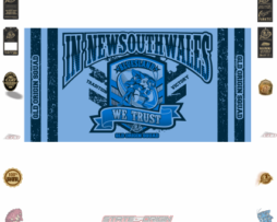 State of Origin Originals 2018 NSW We Trust Medium Banner / Flagbanner