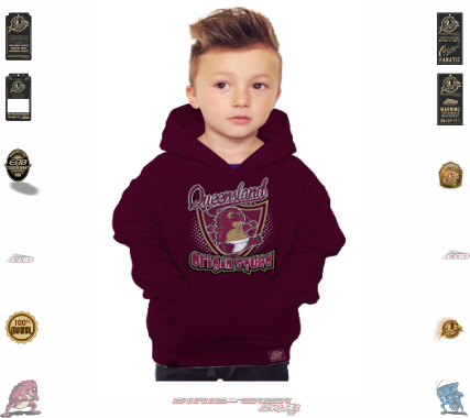 State of Origin 2018 Originals Part of the QLD squad Toddler Hoodie