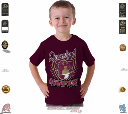 State of Origin 2018 Originals Part of the QLD Squad Toddler T shirt