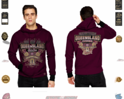 State of Origin 2018 Sports Originals Traditionally Queensland Mens Hoodie