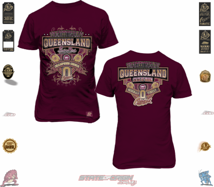 State of Origin 2018 Originals Traditionally Queensland Finest T shirt