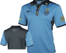 NRL State of Origin NSW Rugby League Replica Polo 2018