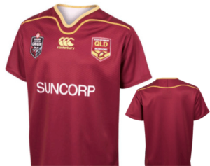 NRL State of Origin QRL Teen Player Replica Jersey 2018