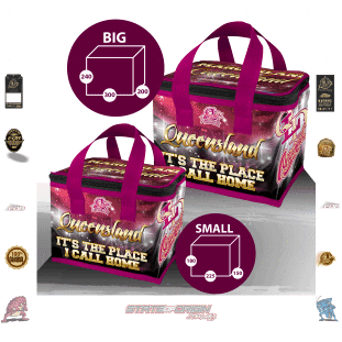 State of Origin 2018 QLD Originals Home Lunch box Cooler Bag
