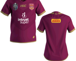 NRL State of Origin QRL Adults replica Jersey 2018